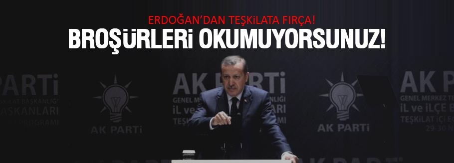 Erdoğan'ın il ve ilçe başkanları toplantısı konuşması