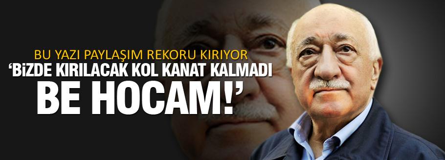 Cemile Bayraktar'ın Gülen yazısı rekor kırıyor