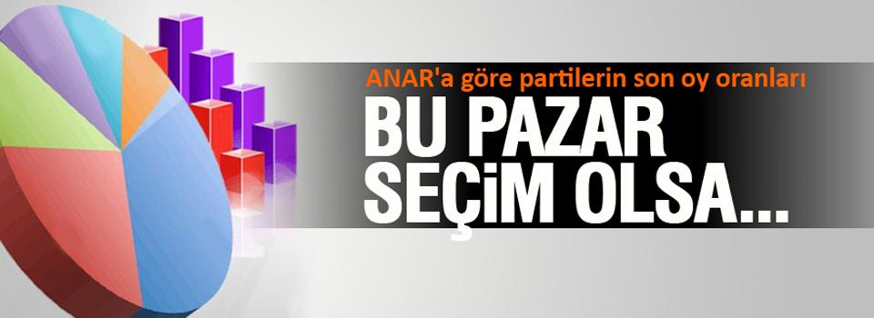 ANAR'ın son seçim anketi - Son seçim anketleri 2014