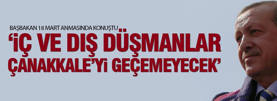 Başbakan Erdoğan'ın Çanakkale konuşması