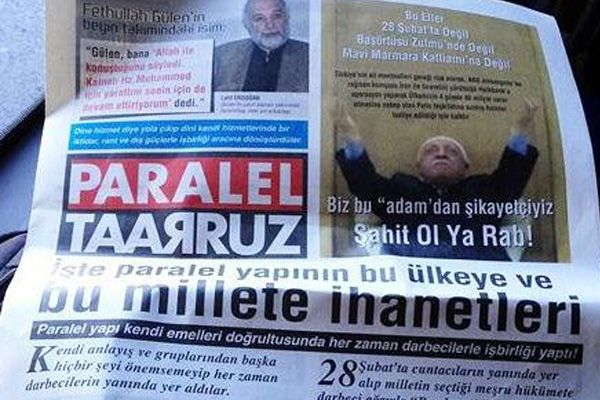 Paralel Taarruz Gazetesi çıkarıldı