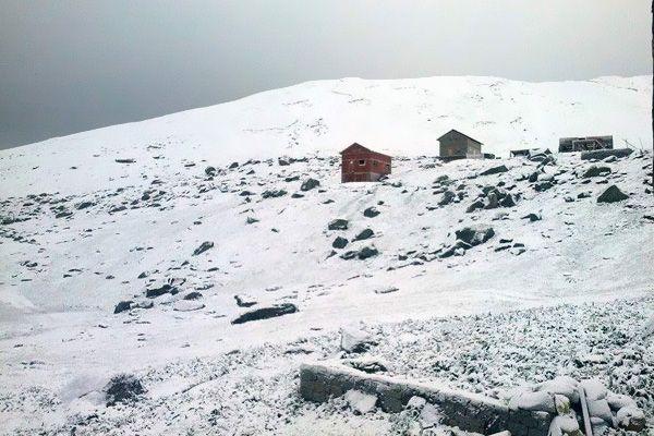 Rize'de Haziran'ın ortasında kar yağdı
