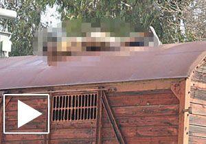 Vagon üstünde fotoğraf çekilirken öldü