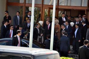 Cumhurbaşkanı Erdoğan Şule Yüksel Şenler'i ziyaret etti