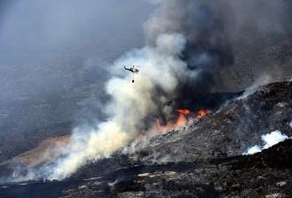 Kanada'da orman yangını korkutuyor