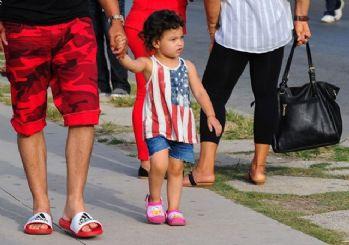 Küba'da yeni moda ABD bayrağı