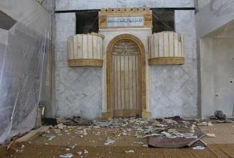 Suriye'de iftar vaktinde camide intihar saldırısı