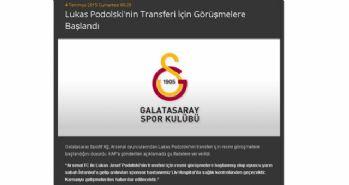 Galatasaray'dan Podolski haberi