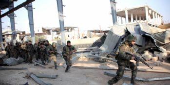 Suriye ordusu ve Hizbullah Zabadani'ye saldırı başlattı