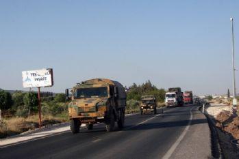 Suriye sınırına füze takviyesi