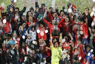 2015 Copa America'nın şampiyonu Şili