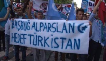 Ankara'da 'Doğu Türkistan' eylemi
