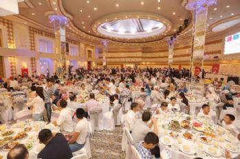 Bağcılar Belediyesi Kazakistan'da iftar verdi