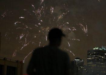 ABD bağımsızlığı böyle kutladı