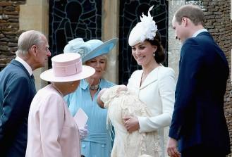 İngiltere kraliyet bebeği Prensesi Charlotte vaftiz edildi