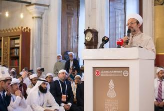 'Kuran'ı yaşamak çok büyük bir ibadet'