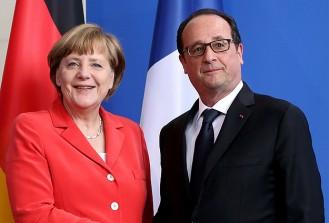 Hollande ile Merkel referandumun sonucunu değerlendirecek