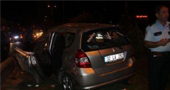 Başkent'te iftar dönüşü feci kaza: 10 yaralı!