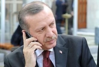 Cumhurnbaşkanı Erdoğan liderlerle görüştü