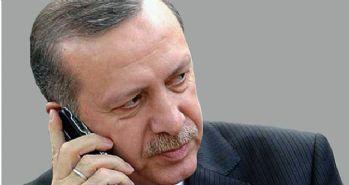 Cumhurbaşkanı Erdoğan'ın telefon trafiği