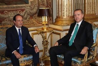 Hollande Cumhurbaşkanı Erdoğan'a teşekkür etti
