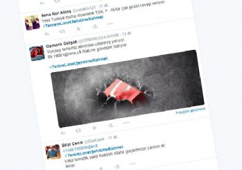 PKK ihanetine sosyal medyada tepki