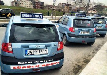 Direksiyon sınavı yeni sürücü adaylarını zorluyor