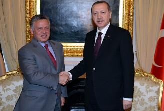 Erdoğan ile Kral Abdullah telefonda görüştü