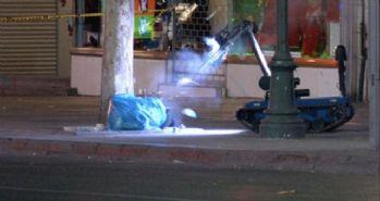 Başkent'te şüpheli paket robot yardımıyla patlatıldı