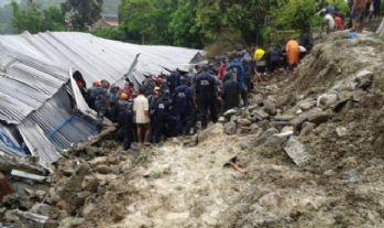Nepal'de toprak kayması faciası: 20 ölü