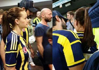 Fahriye Evcen, Burak Özçivit için Fenerbahçeli oldu