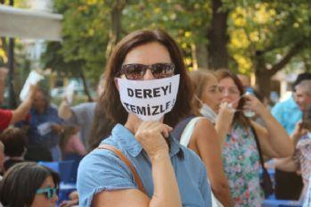 Kadıköylülerden Kurbağalıdere protestosu