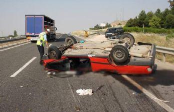 Eskişehir'de feci kaza: 1 ölü, 7 yaralı