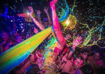 En renkli festival yapıldı