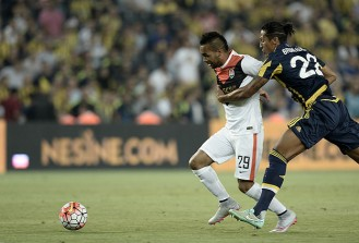 Fenerbahçe Avrupa'da deplasmanda kayıp
