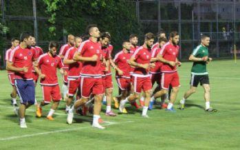 Beşiktaş maçının mesaisine başladılar
