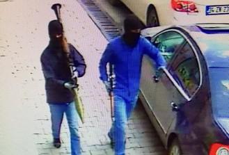 Yüksekova'daki terör saldırısı güvenlik kamerasında