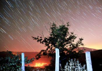 Yıldız kayması çıplak gözle izlendi