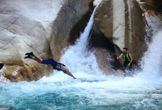 Adrenalin tutkunlarının adresi: Göynük Kanyonu