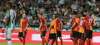 Galatasaray'dan deplasmanda farklı galibiyet