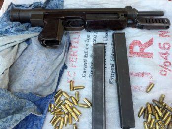 Kahramanmaraş'ta suikast silahı ele geçirildi