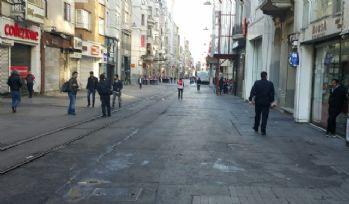 İstiklal Caddesi bu yıl yaya trafiğine kapatılmadı