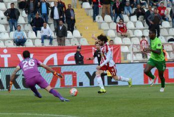 Sivasspor galibiyeti 'kaçırdı': 1-1