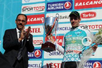 Bisiklet Turu'nda şampiyon Gonçalves oldu