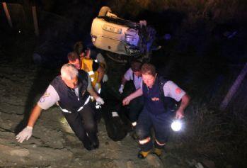 Biri tarlaya biri mezarlığa uçtu: 2 ölü, 1 yaralı