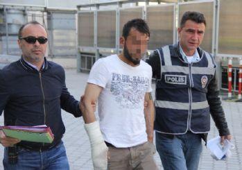 İnşaat İşçilerinin Cüzdanını Çalan Genç Yakalandı