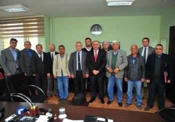 Orhangazili Gaziler Kıbrıs'ta