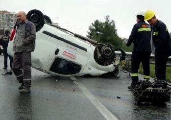 Yağmurla Birlikte Kazalar Da Arttı