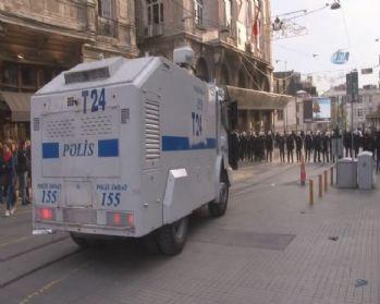 'Vekilime dokunma' protestosunda 8 gözaltı