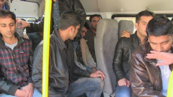 Kaçak Pakistanlılar lüks villada yakalandı